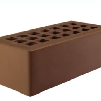 Тёмно-коричневый одинарный 250х120х88 с утолщенной стенкой